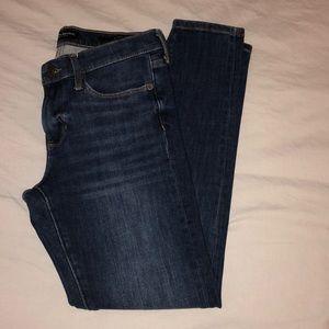 Banana Republic dark skinny jeans